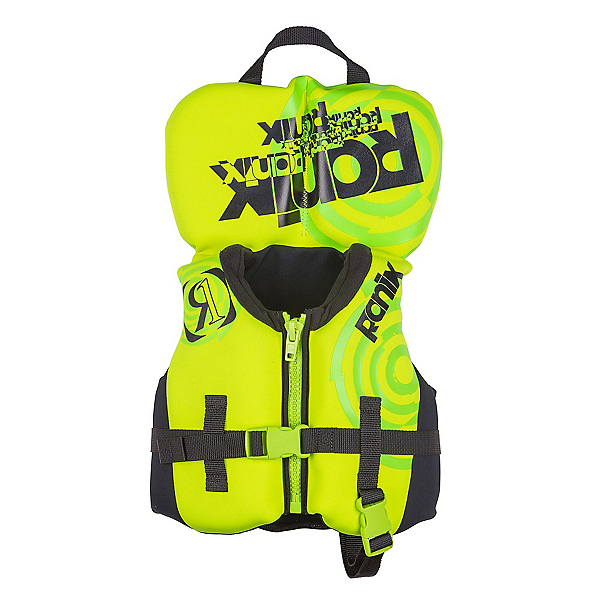 Ronix Vision Infant Life Vest 2018, Lime-Yellow, 600