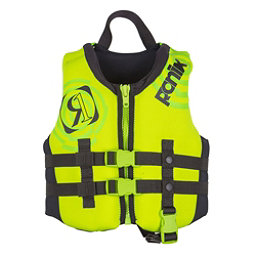 Ronix Vision Child Toddler Life Vest 2018, Lime-Yellow, 256