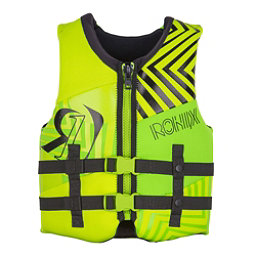 Ronix Vision Youth Junior Life Vest 2018, Lime-Yellow, 256