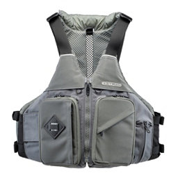 Astral Ronnie Fisher Fishing Kayak Life Jacket 2018, Charcoal, 256