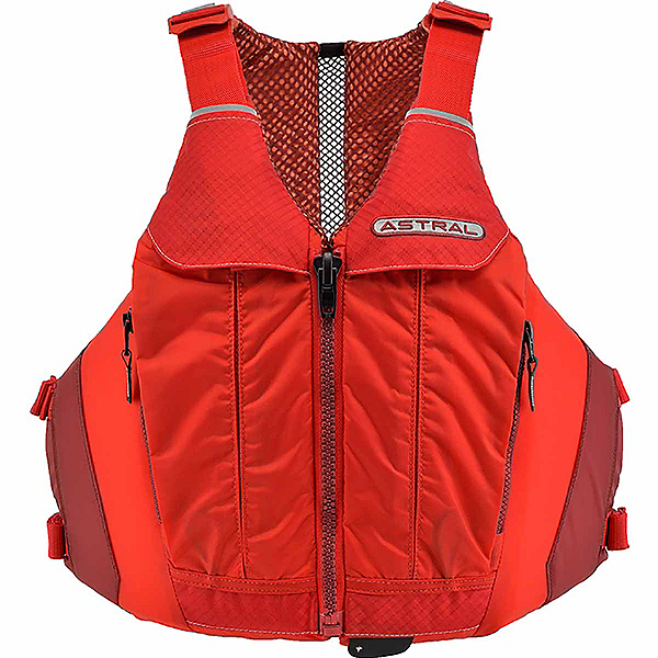 Astral Linda Womens Kayak Life Jacket 2018, Rosa Red, 600