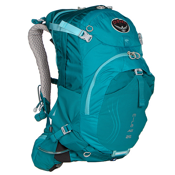 Osprey Mira AG 26 Hydration Pack, Bondi Blue, 600