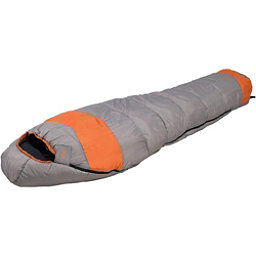 Alps Mountaineering Fahrenheit +20 Mummy Sleeping Bag 2018, Grey-Orange, 256