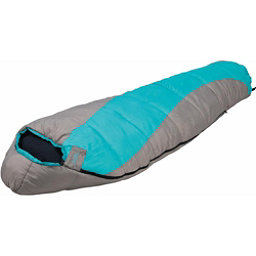 Alps Mountaineering Fahrenheit 0 Mummy Womens Sleeping Bag 2017, Grey-Green, 256