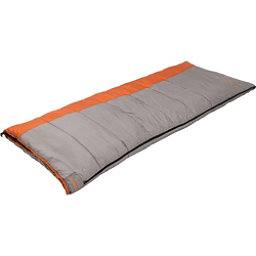 Alps Mountaineering Fahrenheit 20 Rectangular Sleeping Bag 2017, Grey-Orange, 256