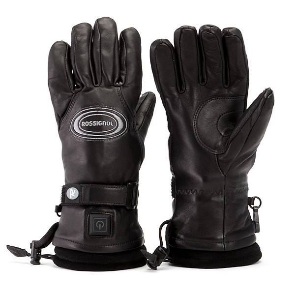 Rossignol Winters Heat Leather Mens Heated Gloves and Mittens, , 600