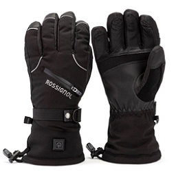 Rossignol Winters Fire Mens Heated Gloves and Mittens, Black, 256