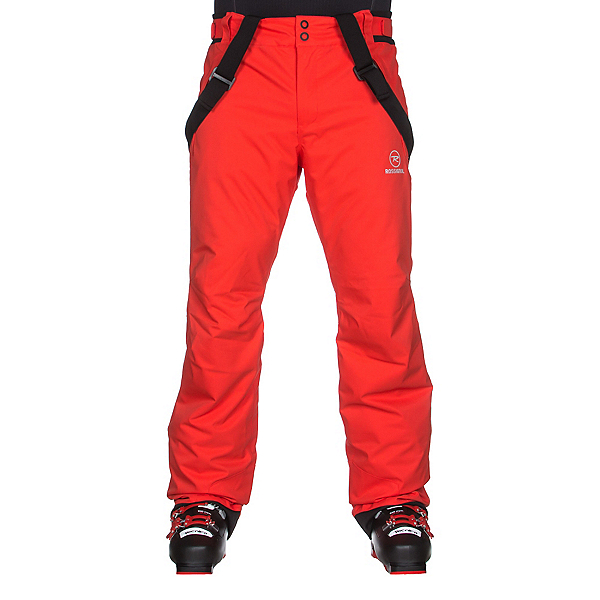 Rossignol Elite Mens Ski Pants, Blaze Red, 600