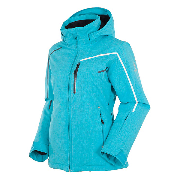 Rossignol Fairy Heather Womens Insulated Ski Jacket, Azurite, 600