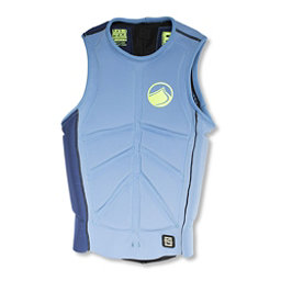 Liquid Force Cardigan Comp Adult Life Vest, Blue-Green, 256