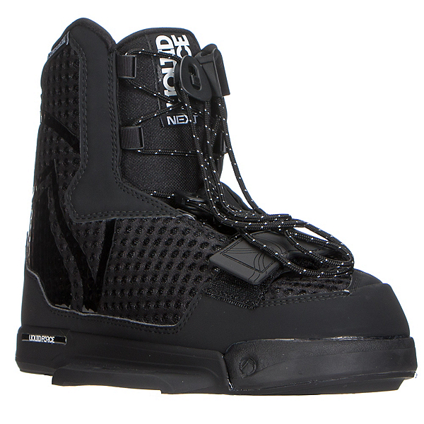 Liquid Force Next Wakeboard Bindings, Black, 600