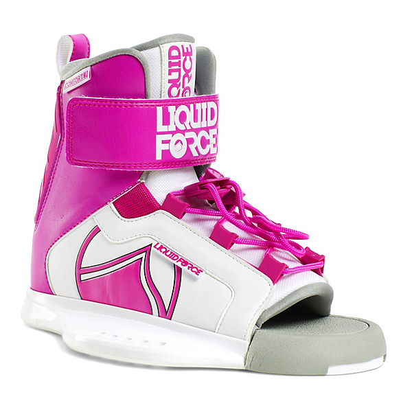 Liquid Force Dream Girls Wakeboard Bindings 2018, White-Pink, 600