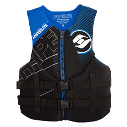 Hyperlite Indy Neo Adult Life Vest, Black-Blue, 256