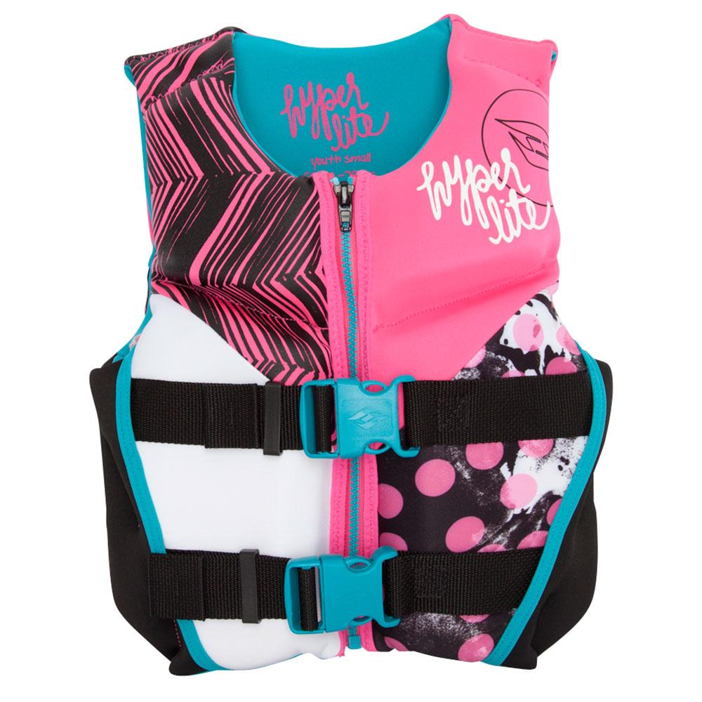 Hyperlite Youth Indy Neo Girls Junior Life Vest im test