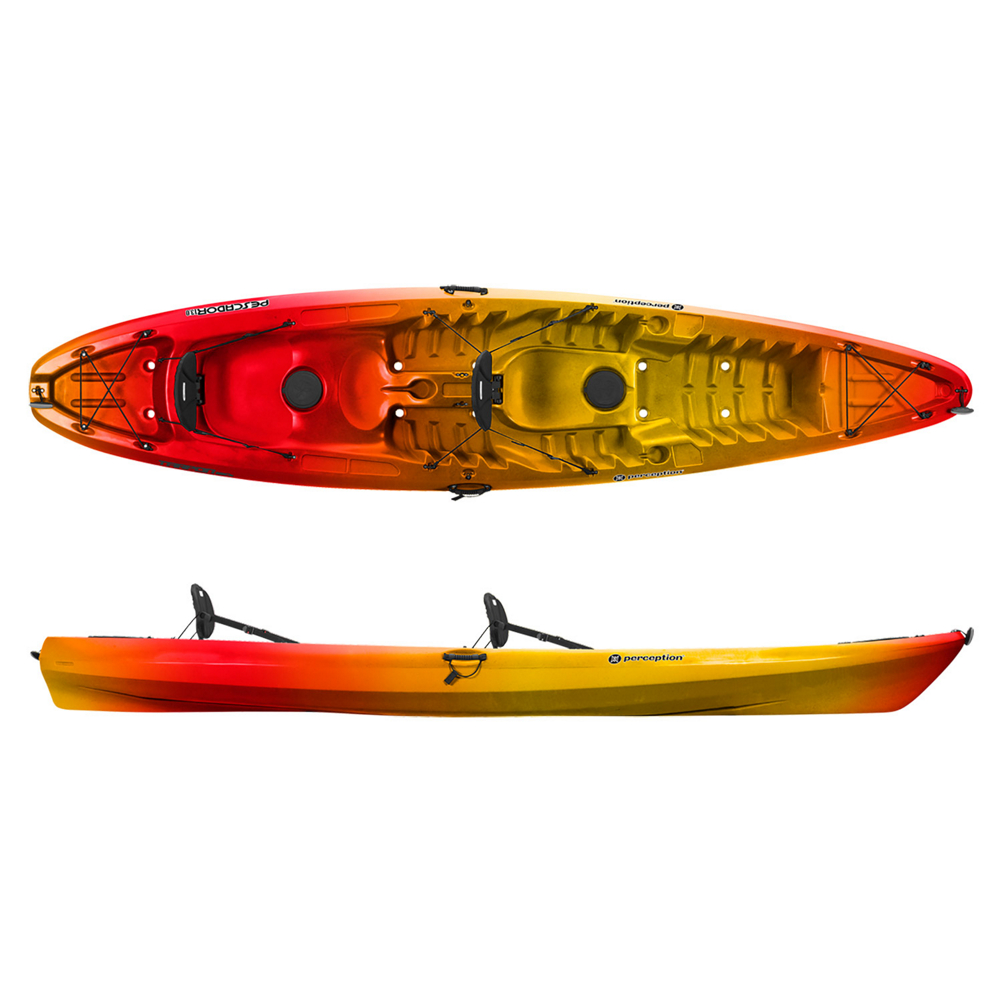Perception Pescador 13 Tandem Kayak im test