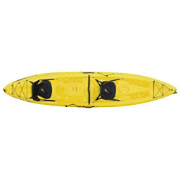 Ocean Kayak Malibu 2XL Tandem Kayak 2018, Yellow, 256