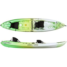 Ocean Kayak Malibu 2XL Tandem Kayak 2018, Envy Green, 256