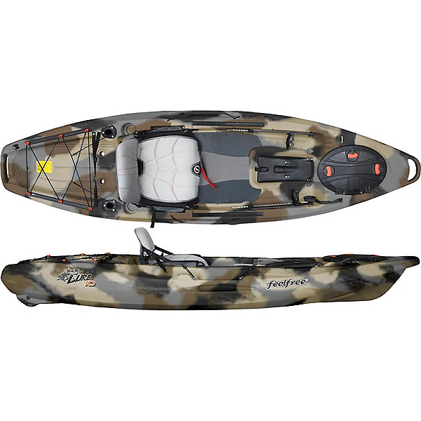 Feelfree Lure 10 Kayak 2019, Winter Camo, 600