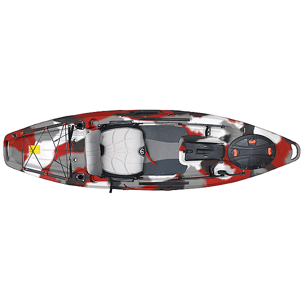 Feelfree Lure 10 Kayak 2019, Red Camo, 600