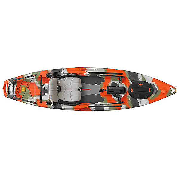 Feelfree Lure 11.5 Kayak 2019, Orange Camo, 600