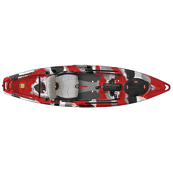 Feelfree Lure 11.5 Kayak, Red Camo, 600