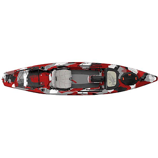 Feelfree Lure 13.5 Kayak 2017, Red Camo, 600