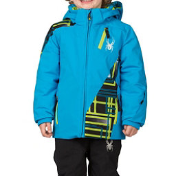 Spyder Mini Enforcer Toddler Ski Jacket, Electric Blue-Electric Blue-Th, 256