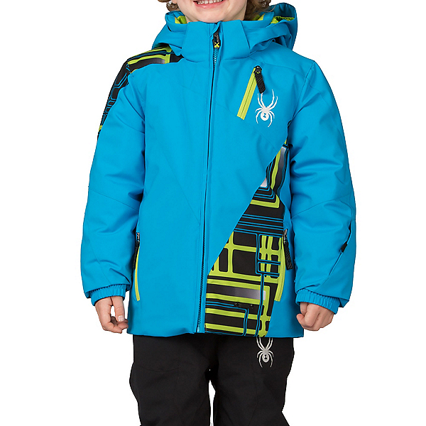 Spyder Mini Enforcer Toddler Ski Jacket, , 600