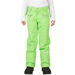 Spyder Vixen Tailored Girls Ski Pants, Green Flash, 256