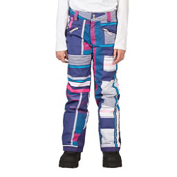 Spyder Vixen Tailored Girls Ski Pants, Evening Vybe Print, 256