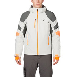 Spyder Verbier Mens Insulated Ski Jacket, Cirrus-Polar-Bryte Orange, 256