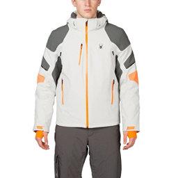 Spyder Verbier Mens Insulated Ski Jacket (Previous Season), Cirrus-Polar-Bryte Orange, 256