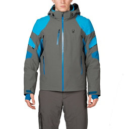 Spyder Verbier Mens Insulated Ski Jacket, Polar-Electric Blue-Concept Bl, 256