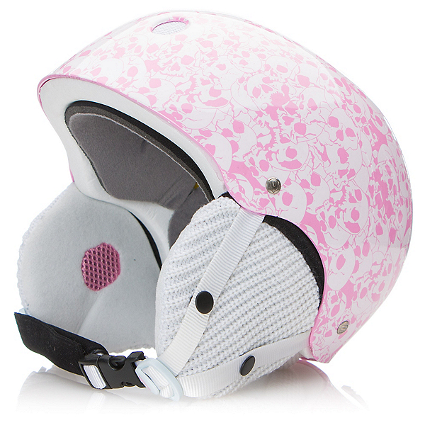 Capix Snow Dynasty Womens Helmet, White Skull, 600