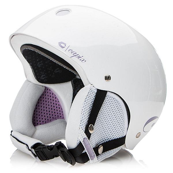 Capix Shorty Girls Helmet, White-Purple, 600