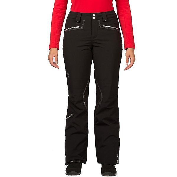 Spyder ME Tailored Fit Long Womens Ski Pants (Previous Season), Black, 600