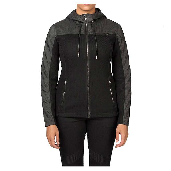 Spyder Core Ardour Mid Weight Womens Sweater, Black-Black Melange, 600