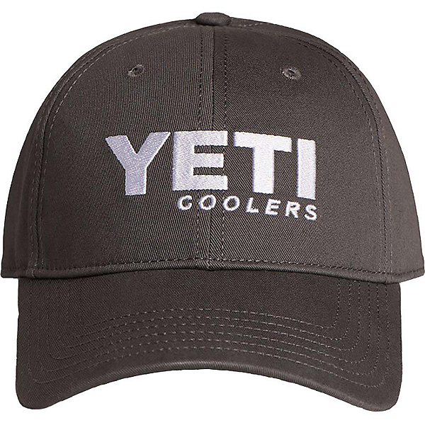 YETI Low Profile Full Panel Hat, Gunmetal Gray, 600