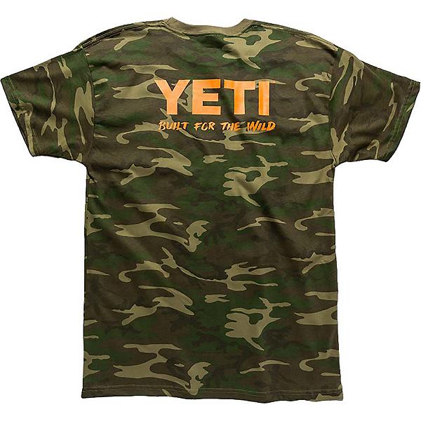 YETI Built For The Wild Pocket Tee Mens T-Shirt, Camo, 600