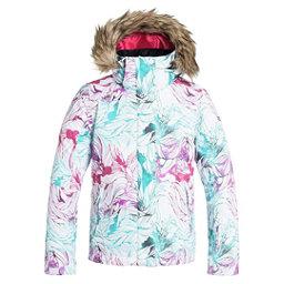 Roxy American Pie w/ Faux Fur Girls Snowboard Jacket, Snowtwist, 256