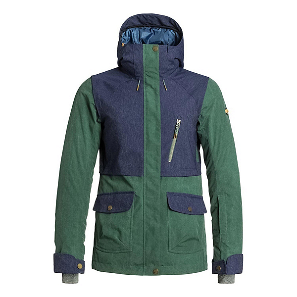Roxy Tribe Womens Insulated Snowboard Jacket, , 600