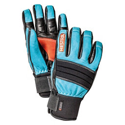 Hestra Dexterity Gloves, Turquise-Black, 256