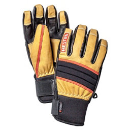 Hestra Dexterity Gloves, Natural Brown-Black, 256