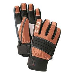 Hestra Dexterity Gloves, Brown-Black, 256