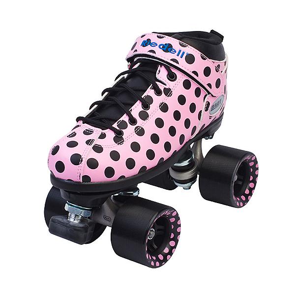 Riedell Dart Polka Dot Womens Speed Roller Skates 2017, , 600