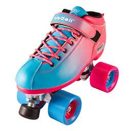 Riedell Dart Ombre Speed Roller Skates 2018, Blue Pink, 256