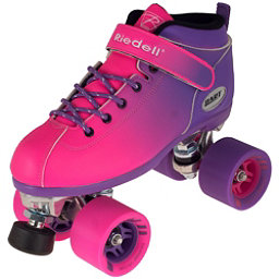 Riedell Dart Ombre Speed Roller Skates 2018, Purple Pink, 256