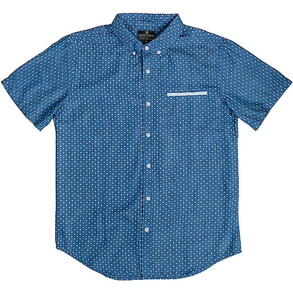 United By Blue Wenlock Chambray Mens Shirt, Blue, 600