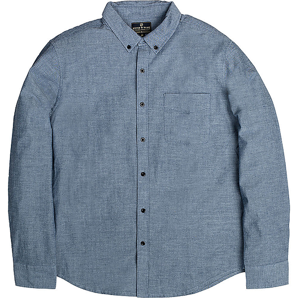 United By Blue Bryce Button Down Mens Shirt, , 600