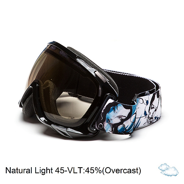 Scott Fix Womens Goggles, Stilkey Black-Nl45, 600